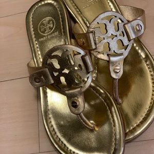 Tory Burch Miller Sandal - Golden